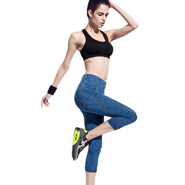 US$ 4.15 Yoga  Ladies Cropped Trousers