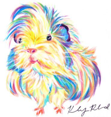 Pingl par th r se morel sur cochon d 39 inde pinterest cochon d 39 inde animaux et dessin - Comment dessiner un cochon d inde ...
