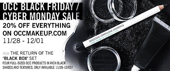 The Top 36 Makeup/Skincare Beauty Brand Black Friday, Cyber Monday Online Deals - SEE THEM HERE>>