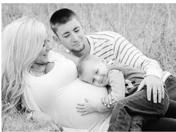Maternity family picture