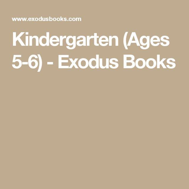 Kindergarten (Ages 5-6) - Exodus Books