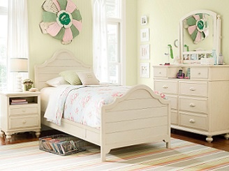 Paula Deen Gals Panel Bed   The Perfect Bed For Little Girls, The Paula Dean  Gals Panel Bed Will Thrill Them With Its Sophisticated And Elegant Design  ...