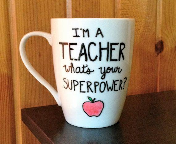 Teacher Coffee Mug I'm A Teacher What's Your by Hinzpirations