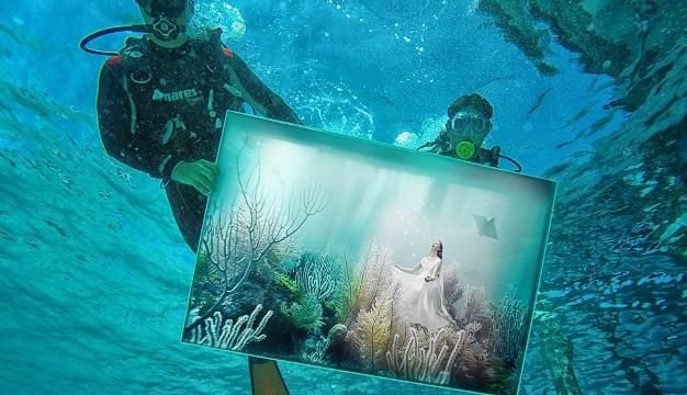 Η τέχνη κάνει βουτιά στο νερό -Υποβρύχια έκθεση ζωγραφικής στις Μαλδίβες [ΕΙΚΟΝΕΣ] | Ειδήσεις και νέα με άποψη