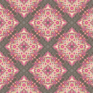 Joel Dewberry - Notting Hill Home Dec Sateen - Kaleidoscope in Pink