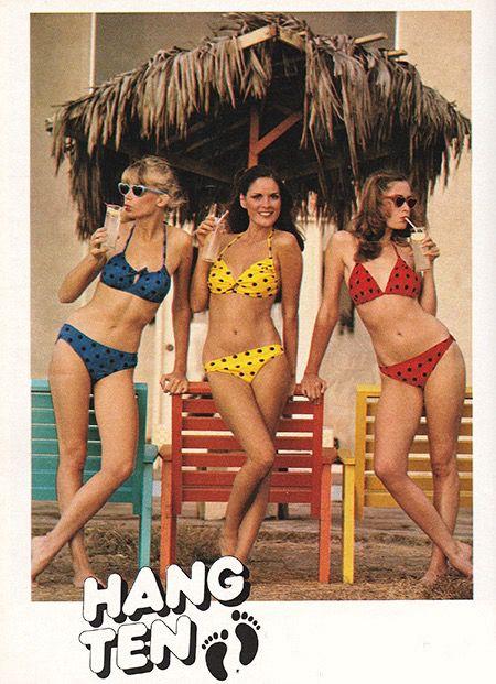 Hang Ten Swimsuit Ad, 1979