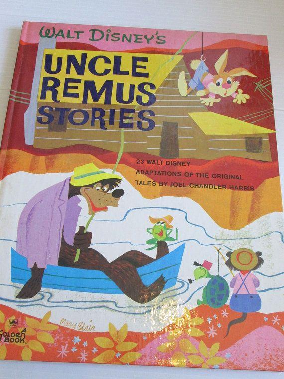 Vintage Disney Uncle Remus Stories Large Golden Book