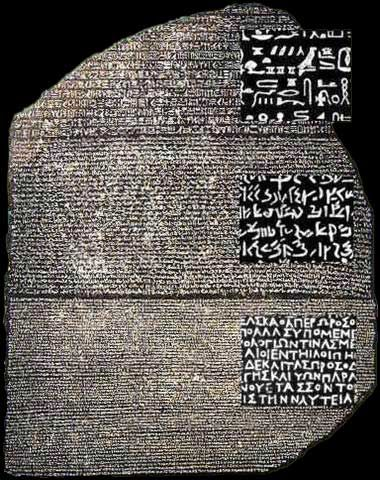 Mystery of the Rosetta Stone Without the Rosetta stone, we would know nothing of…
