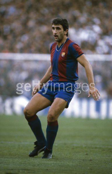 Hans Krankl of FC Barcelona & Austria