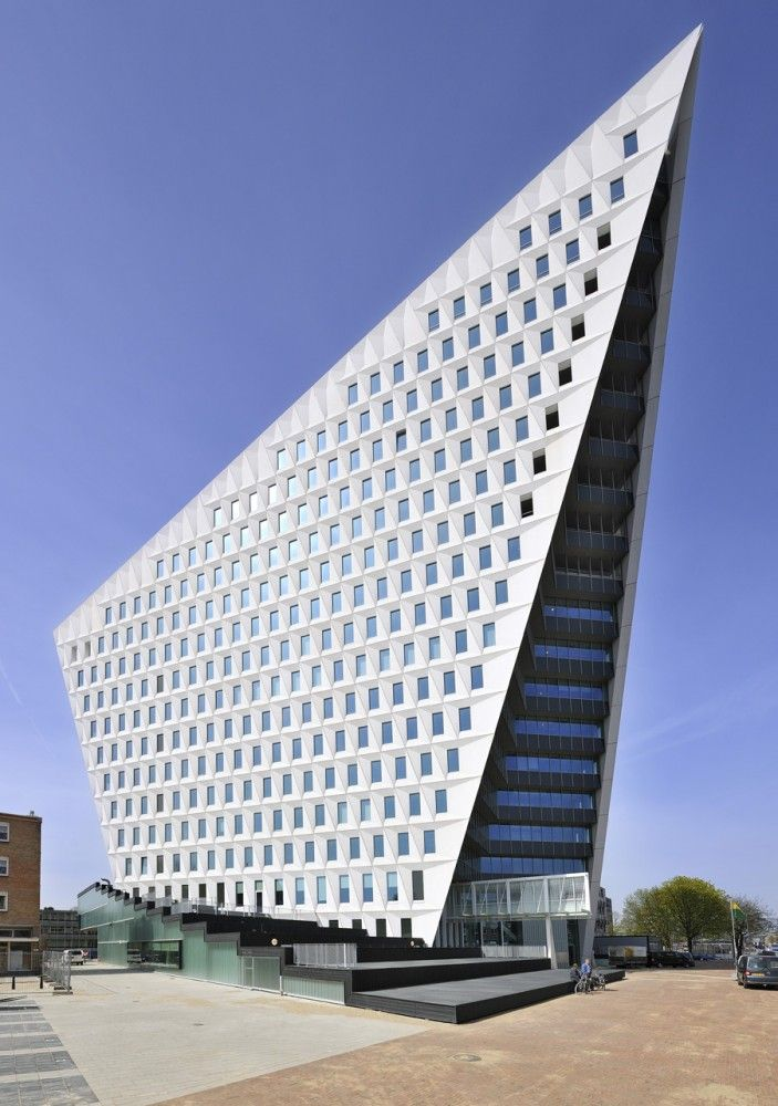 Join buildyful.com - the global place for architecture students.~~The Hague City Hall by Rudy Uytenhaak