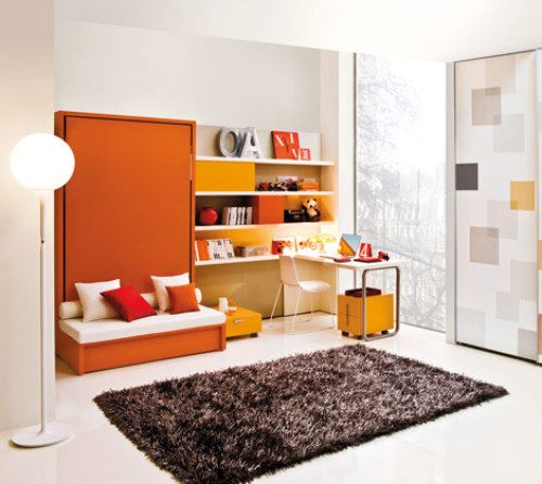 Like the idea... not a fan of the style..Murphy bed with bench