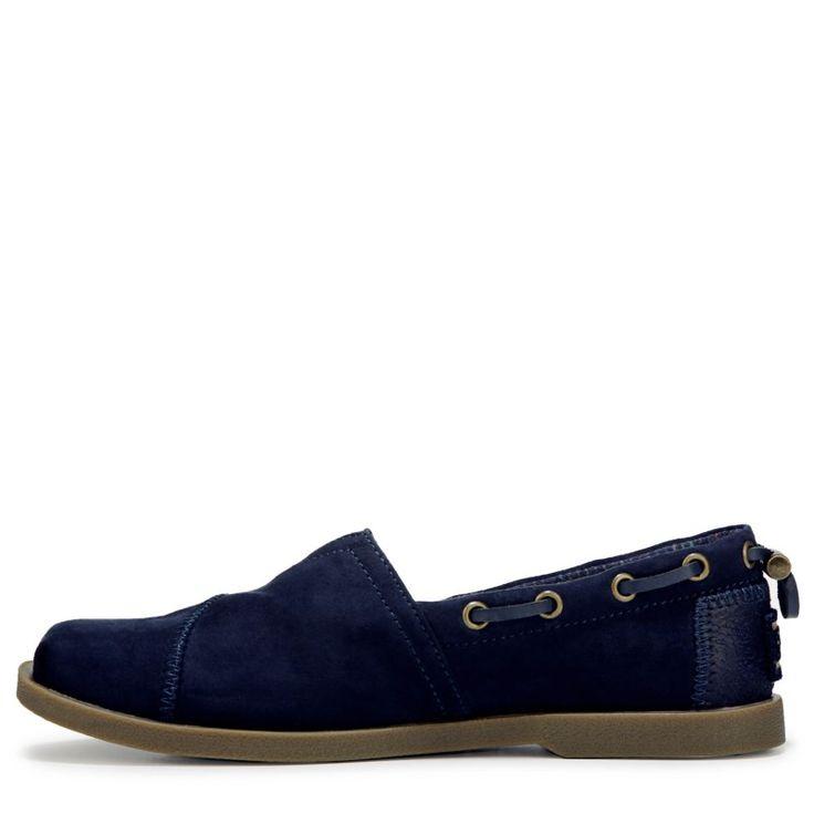 Skechers Women's Bobs Chill Luxe Slip On Shoes (Navy)
