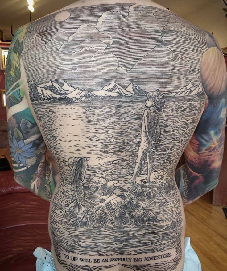 1179 best ink images on pinterest awesome tattoos for To die would be an awfully big adventure tattoo