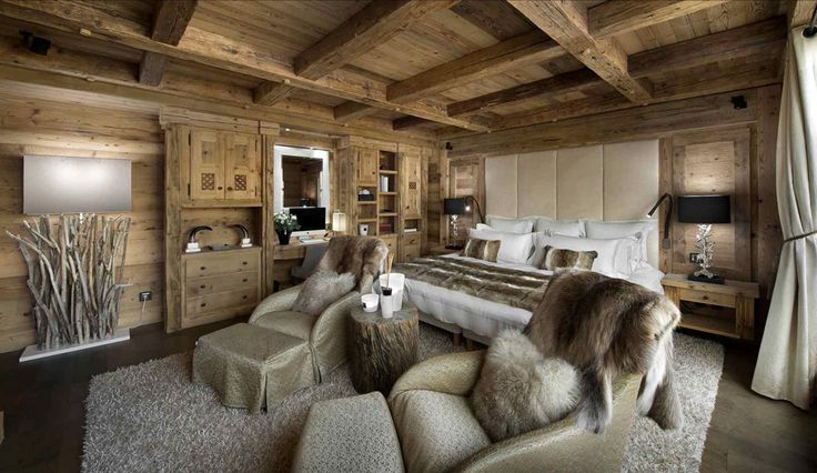 Chalet Pearl chambre 3 maison madrier