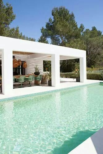 Ibiza villa design inspiration bycocoon.com | exterior & interior design | pool | villa design | design products for easy living | Dutch Designer Brand COCOON