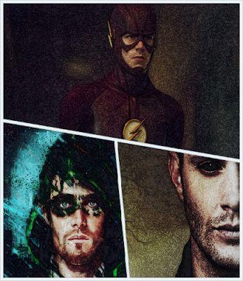 #News - Novos vídeos e imagens de The Flash, Arrow e Supernatural ~ Kalebi Filmes