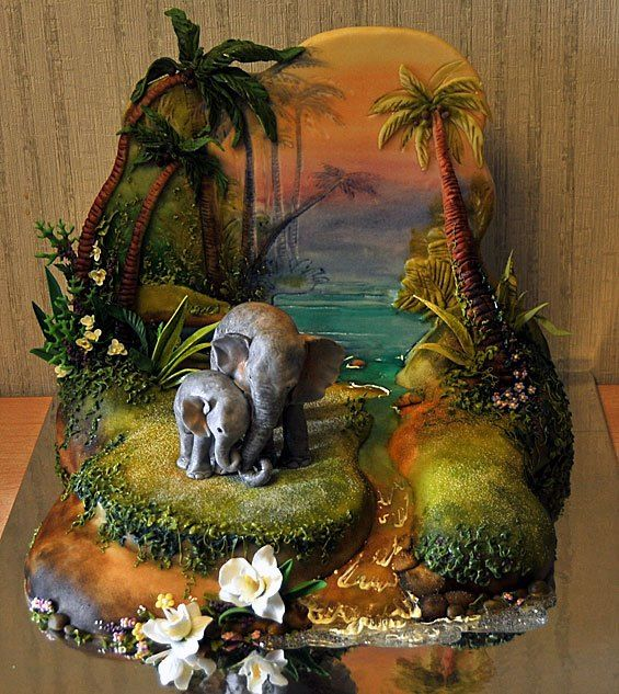Artcake.ru | Unique handmade cakes by Jane Zubova