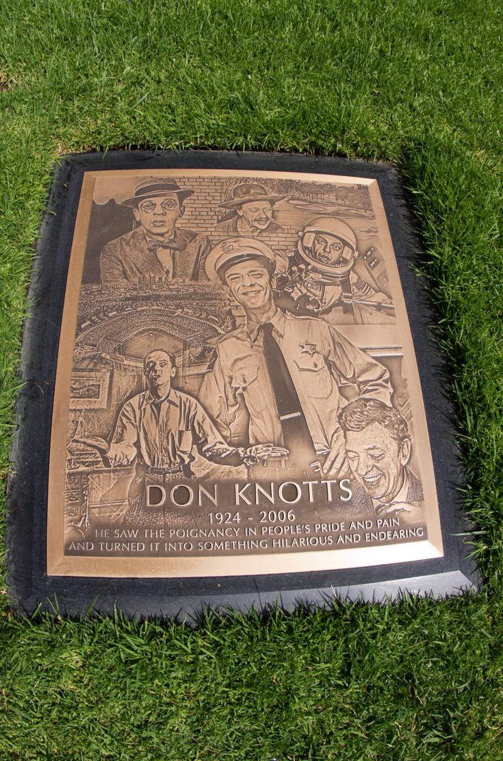 Don Knotts (1924-2006) TV/Film Actor Grave Location: Westwood Memorial Park Los Angeles Cal.