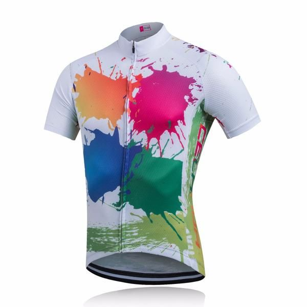 This unique custom Colorful Cycle Wear With Full-Length Zipper with premium quality materials. Product Details: Material:High-qualityPolyester Gender: Women F