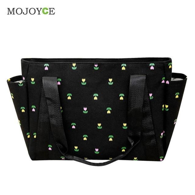 Floral Print Canvas Bag Large Tote Handbags Mummy Women Bag Bolsa Feminina Sac a Main Femme De Marque Clutch Bolsos Mujer