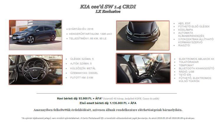 Kia Cee'd SW 1.4 Exclusive