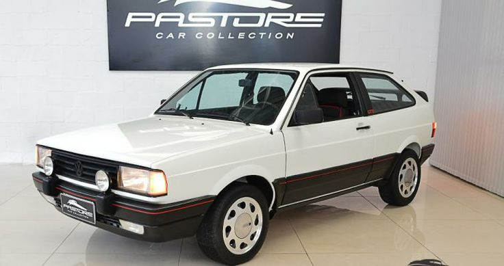 Vw Gol GTS 1.8 1989 Branco - Pastore Car Collection