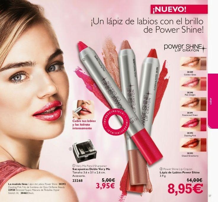 Un lápiz de labios con el brillo de Power Shine!!  8.95€