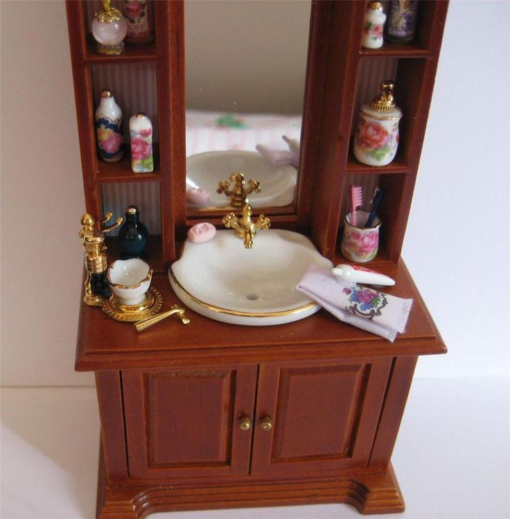 17 Best Images About Dollhouse Bathroom On Pinterest
