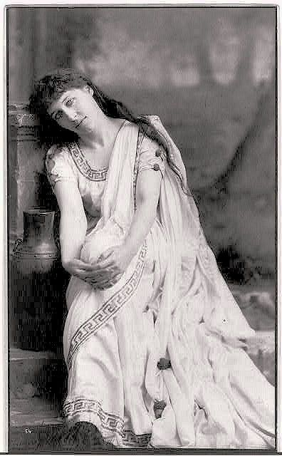 Lilly Langtry (1853-1929) Mistress to the Prince of Wales (1877)