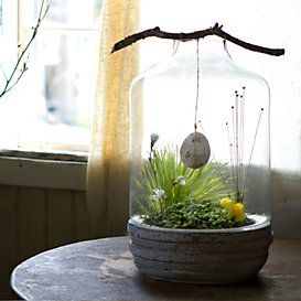 THIS IS GENIUS! It makes me want to have an egg hunt.  EASTER Collections Natural Elements at Terrain