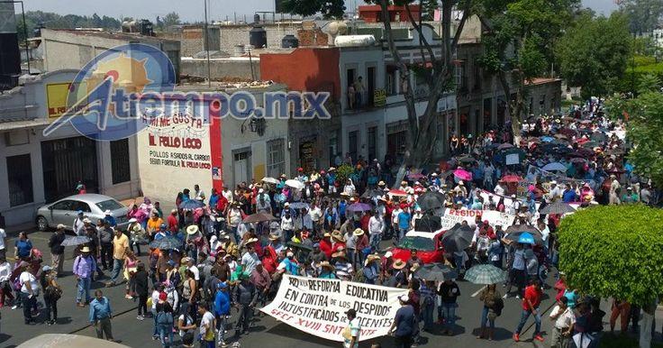 El secretario de Educación Pública, Aurelio Nuño, anunció esta tarde que más de 3 mil maestros paristas serán dados de baja en Guerrero, Oaxaca y Michoacán, debido a que ya ...