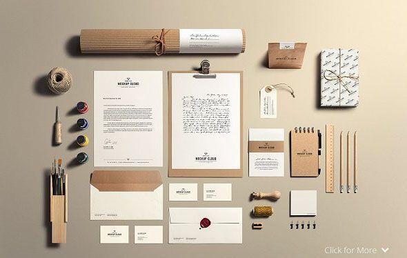 Art Craft Stationery Mock Up Brandingstationerymockup Stationery Mockup Behance Restaurant Branding Mockup P Dizajn Dlya Firmennogo Stilya Dizajn Sajta Dizajn