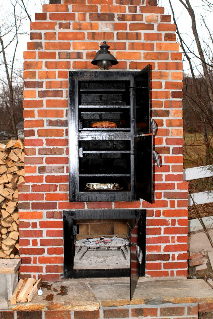 i know i 39 m new here but there 39 s not a lot of info on the web about building brick smokers i