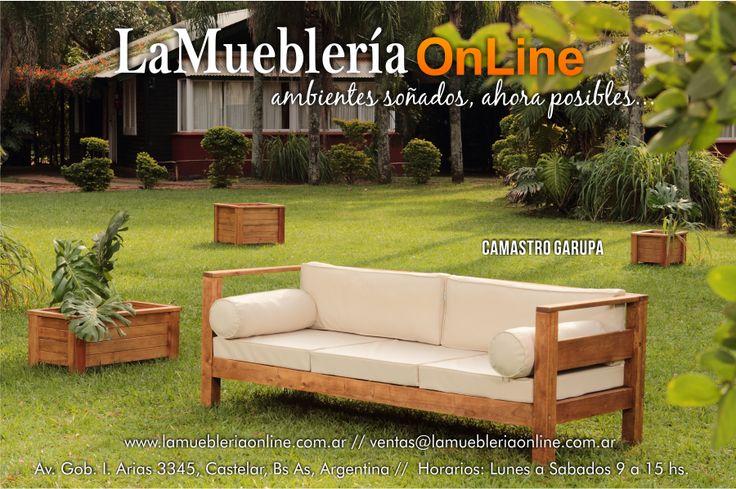 Muebles de jardin ecomadera para conocer los precios for Catalogo muebles jardin