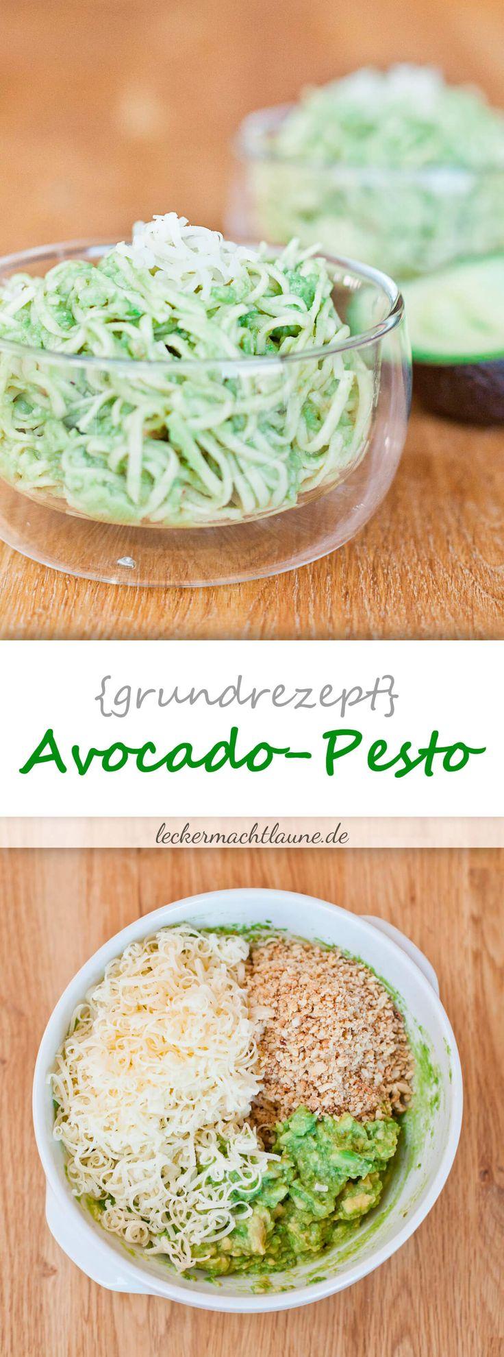 Avocado-Pesto {grundrezept}