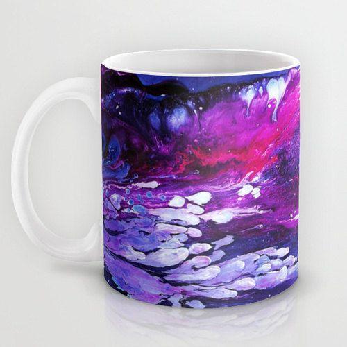 Hey, I found this really awesome Etsy listing at https://www.etsy.com/au/listing/210274957/purple-coffee-mug-galaxy-mug-abstract