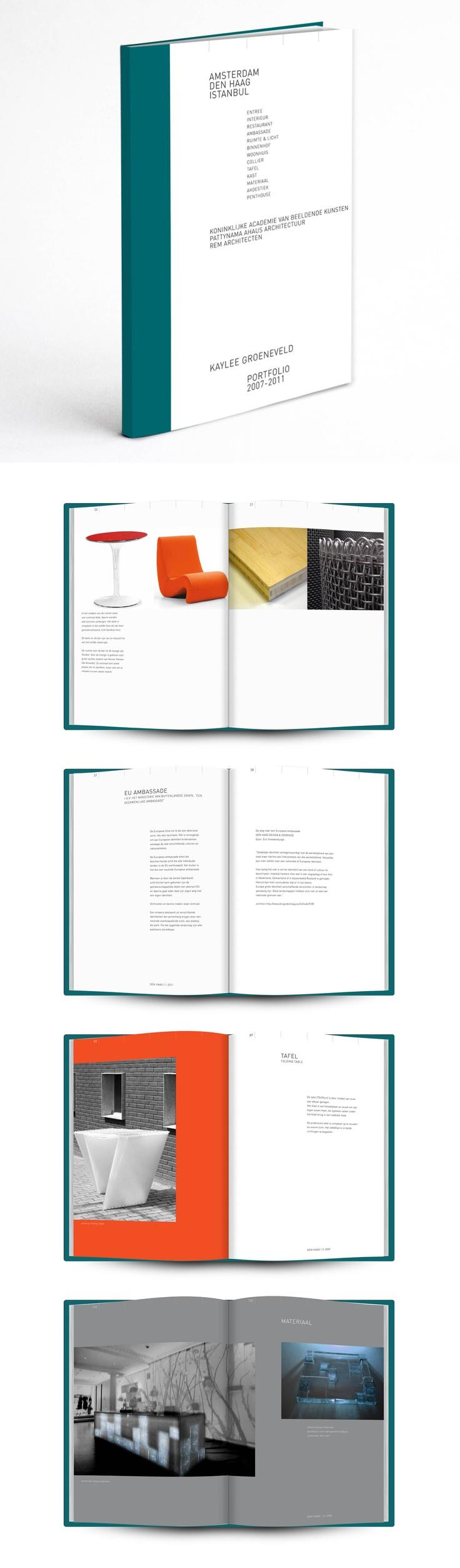 Portfolio boek ontwerp  www.madebymarye.com