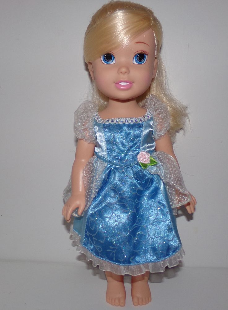 My First Disney Princess Toddler Doll Cinderella - We Got Character