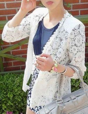 DALAJA Lace Blazer @Abigail Phillips Regan Truax://www.shopjessicabuurman.com