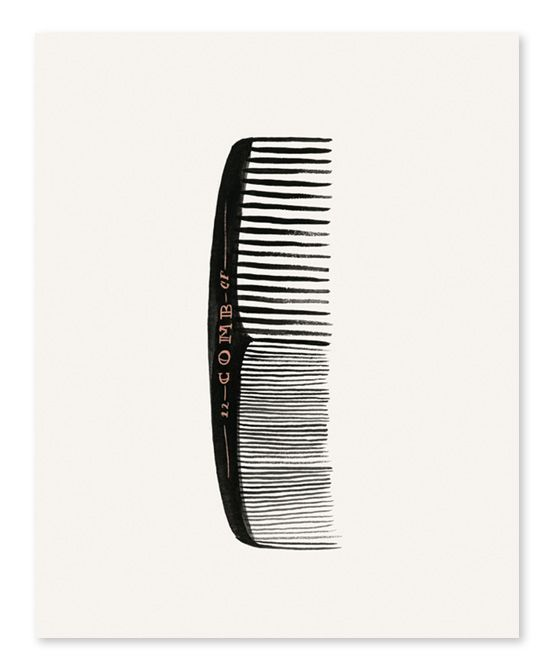 Rifle Paper Co. Comb Print | zulily