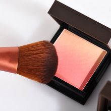 1 UNID Face Brocha Profesional Mineral Powder Blush Maquillaje Para Las Mujeres Impermeables Gradiente Color Contour Maquillaje Coloretes Paleta(China)