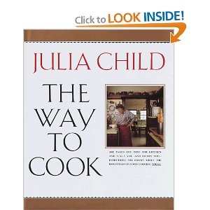 Anything by Julia Child is a good source for a cook - I have especially used (and reused) The Way to Cook - it's a good resource for me.