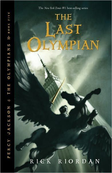 Percy Jackson and the Olympians #5: The Last Olympian by Rick Riordan. So glad he had made a 2nd series! I would have died otherwise