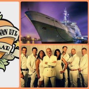 """Op vrijdag 03 oktober 2014 speelde Sonny's Inc. op het grote RTL 25 jaar feest dat uitbundig werd gevierd op het prachtige cruiseschip de """"SS Rotterdam"""""""