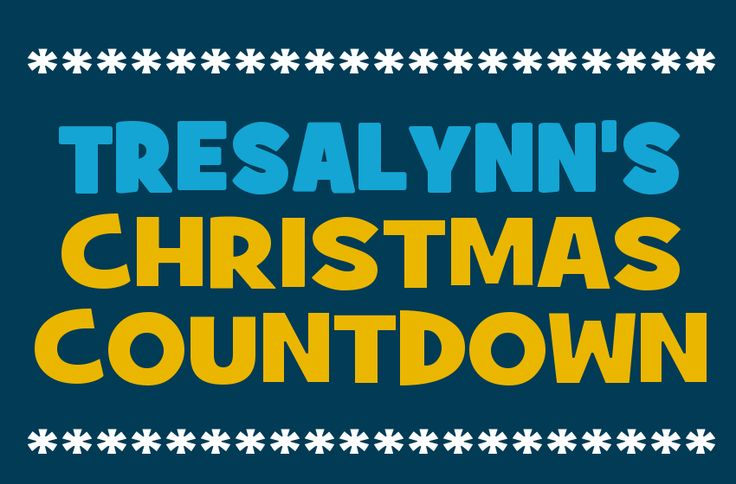 Tresalynn's Christmas Countdown 2014 | Days Till Christmas | Sleeps Until Xmas