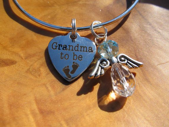 GRANDMA to BE  Personalize with Girl or Boy by DestinyAccessory