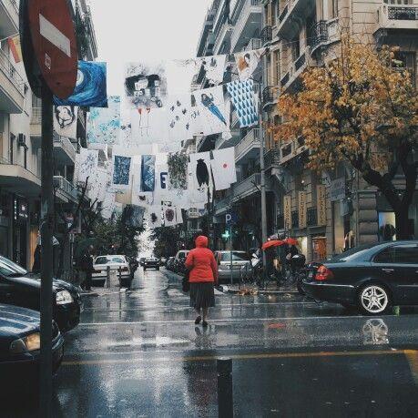 Strange road #Thessaloniki    #ridieassapori #experienceblog #mythessaloniki