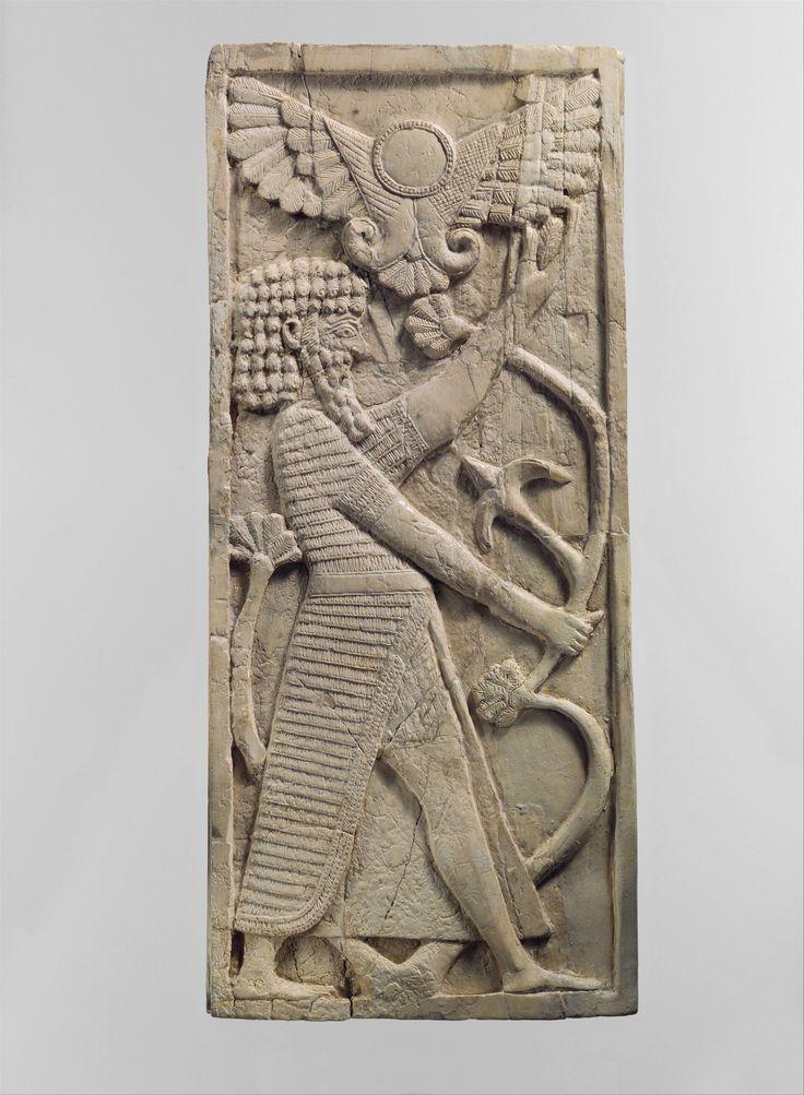 GeographyMesopotamia Nimrud ancient Kalhu CultureAssyrian MediumIvory