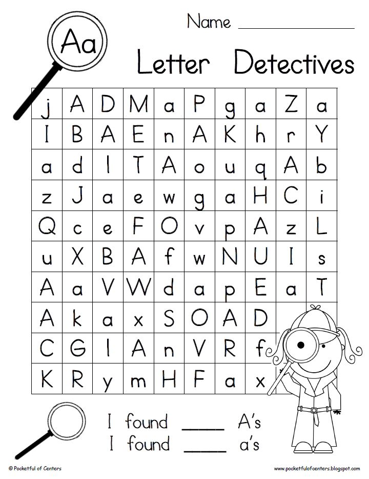 Printables Preschool Alphabet Worksheets A-z 1000 images about letter practice sheets on pinterest alphabet printable searches your detectives will love searching for uppercase and lowercase letters these searc