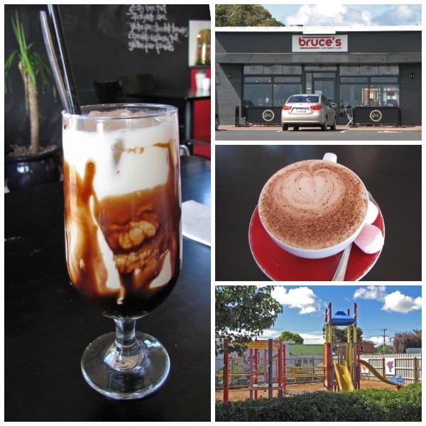 Bruce's Cafe in Wynyard, north west Tasmania. Article for Think Tasmania